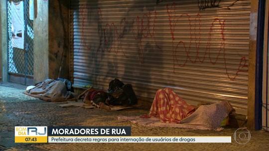 Crivella baixa decreto para internar dependente químico que mora na rua no Rio