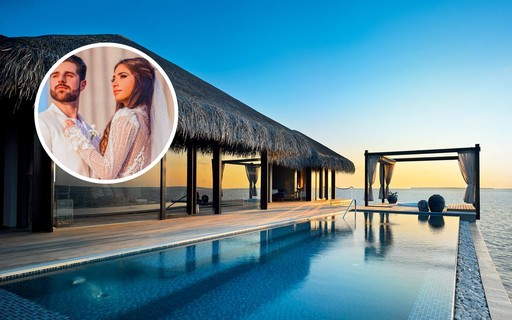 Todos os detalhes da luxuosa lua de mel de Alok e Romana Novais nas Maldivas