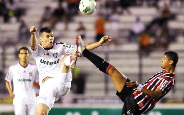 Wagner, Fluminense x São Paulo (Foto: Dhavid Normando / Photocamera)