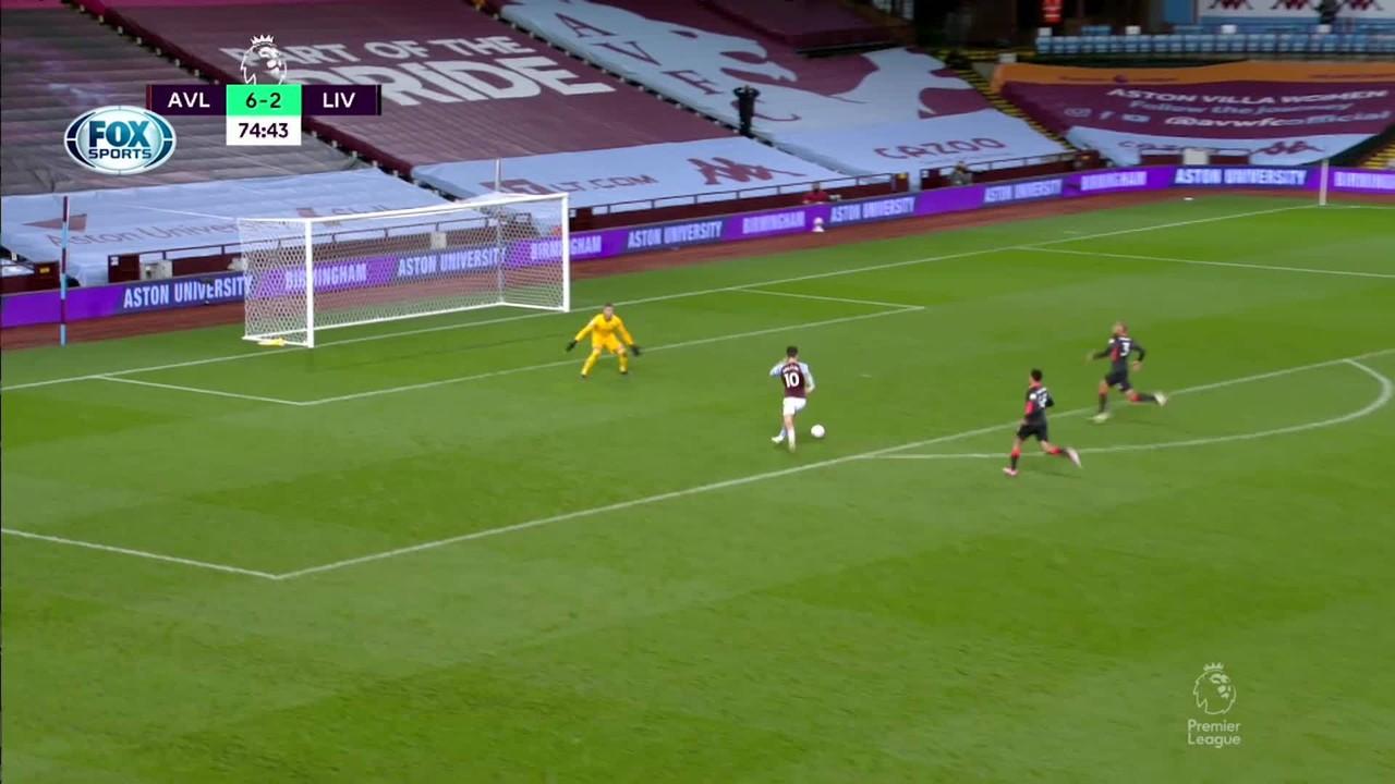 Que massacre! Veja os gols de Aston Villa 7 x 2 Liverpool pelo Campeonato Inglês