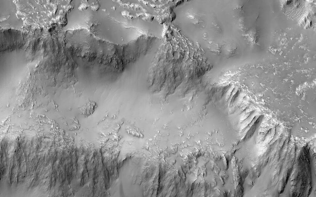 Marte, Niágara Falls, Nasa (Foto: NASA/JPL-Caltech/Univ. of Arizona)