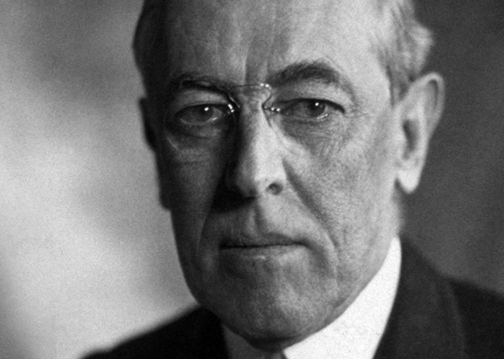 Depois que Woodrow Wilson, o 28º presidente dos EUA, teve um derrame, seus críticos afirmaram que a Casa Branca havia se tornado um asilo de loucos, — Foto: Casa Branca