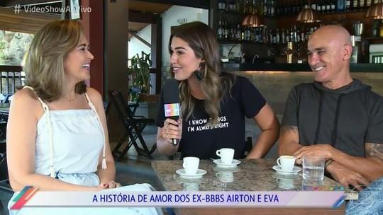 Ex-BBB Ayrton relembra primeiro beijo em Eva: 'Durou 15 minutos'