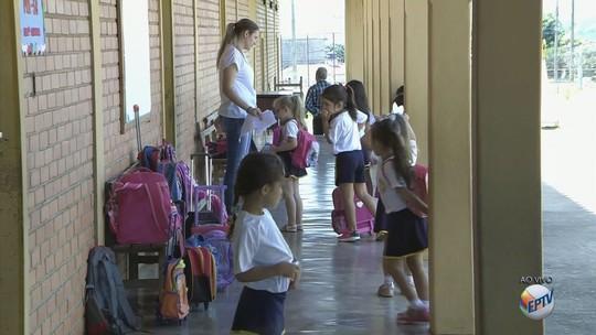 Alunos voltam às aulas após interdição por ataque de maritacas em Carmo do Rio Claro