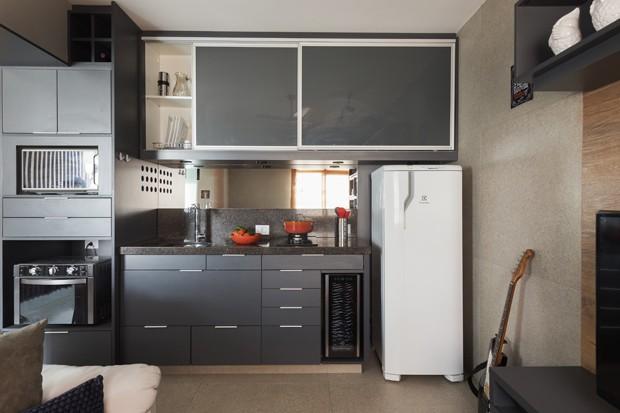 Decoração de apartamento pequeno: 10 dicas para escolher os móveis (Foto: Rafael Renzo)