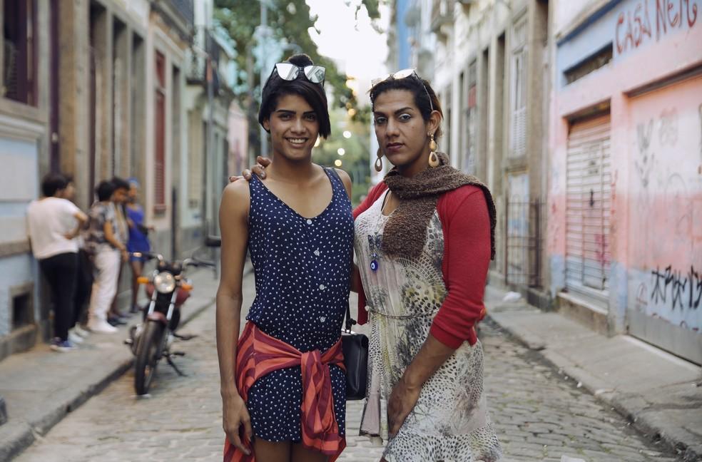 Transexuais venezuelanas buscam nova oportunidade para recomeçarem suas vidas (Foto: Marcos Serra Lima / G1)