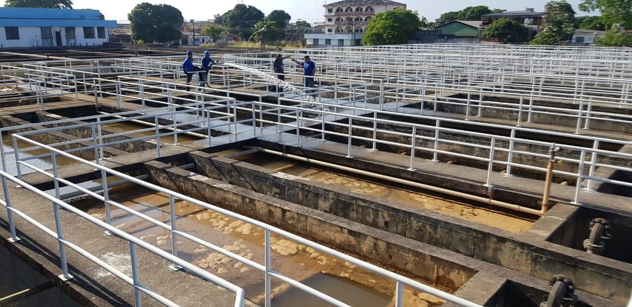 Reservatórios de água passam por limpeza geral e fornecimento fica interrompido por 10h em Macapá - Notícias - Plantão Diário