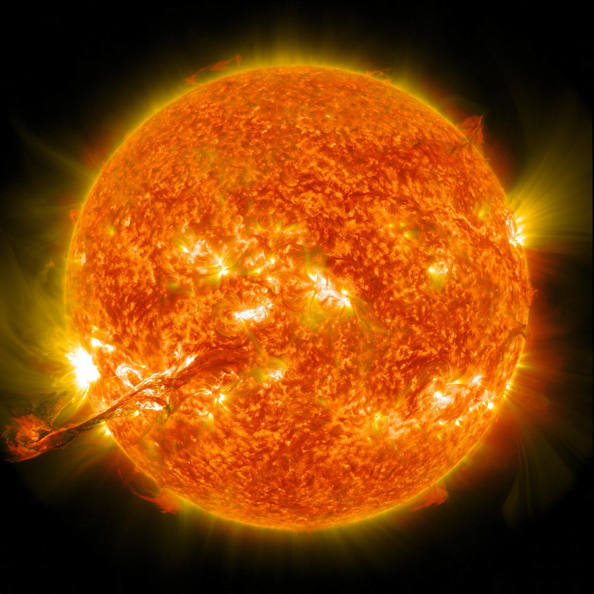 Gêmeo do Sol tem temperatura, tamanho, luminosidade e outras semelhanças com o Sol do Sistema Solar (Foto: Flickr/NASA on the Commons/Creative Commons)