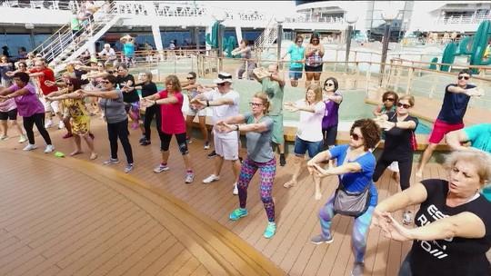 Programa Eu Atleta: como manter rotina saudável em um cruzeiro
