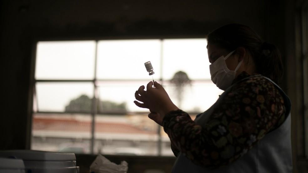 Mais de 78 mil pessoas foram vacinadas contra a Covid-19, em Cascavel — Foto: Divulgação