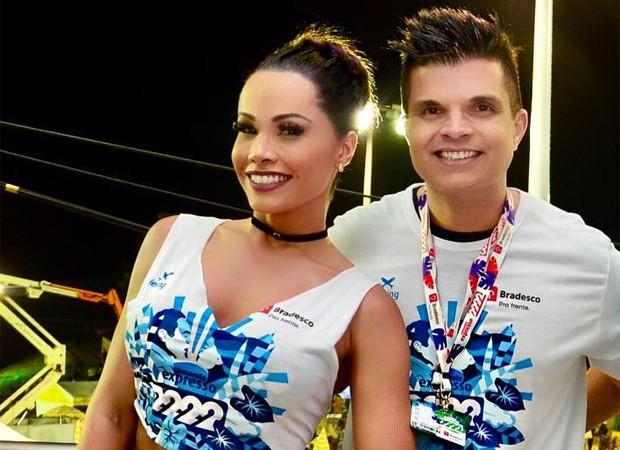 Fernanda D'Avila e Marcos Júnior (Foto: Reprodução/Instagram)