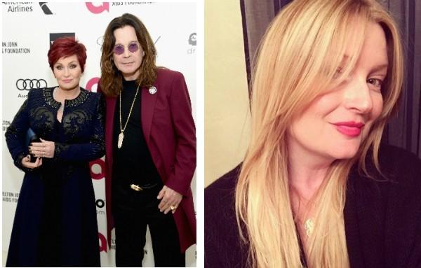 Ozzy Osbourne, Sharon Osbourne e a suposta amante do cantor  (Foto: Getty Images/Reprodução)