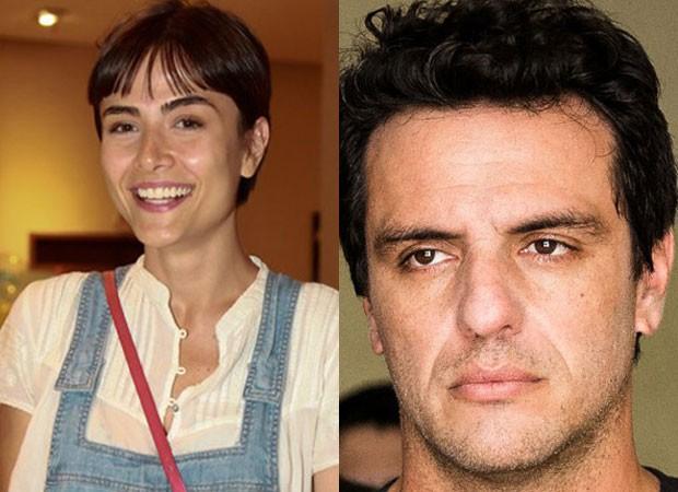 Maria Casadevall e Rodrigo Lombardi (Foto: AgNews e Divulgação/TV Globo)