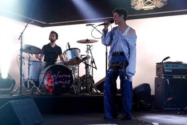Em apresentação no programa Jimmy Kimmel Live (Foto: Getty Images)