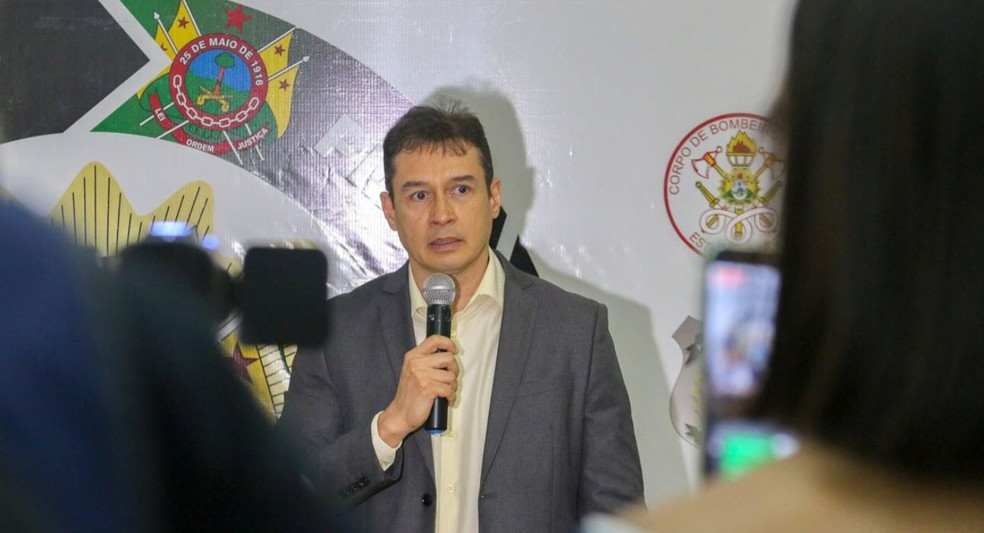 Secretário fala sobre ações para reduzir crimes envolvendo menores no estado — Foto: Assessoria