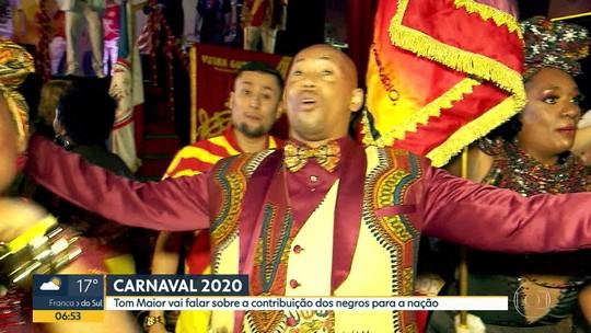 Tom Maior escolhe o tema 'É coisa de preto' como samba-enredo para o carnaval 2020