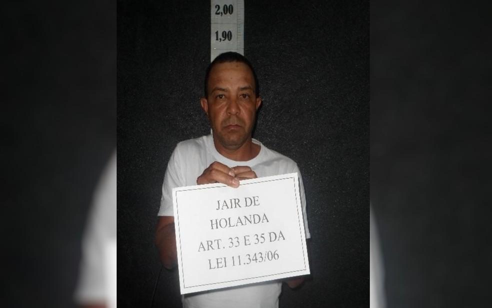 Jair de Holanda, que fugiu da cadeia de Uruaçu, em Goiás — Foto: DGAP/Reprodução