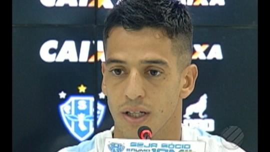 """Thomaz chega ao Paysandu com vontade de mostrar trabalho: """"Fico à disposição"""""""