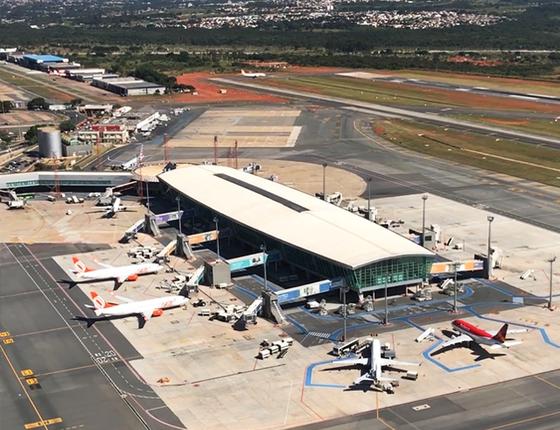 Aeroporto de Brasilia 2 (Foto: Reprodução/Facebook)