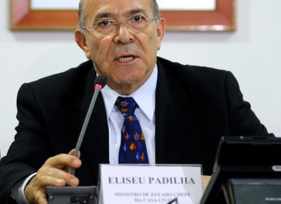 O ministro-chefe da Casa Civil, Eliseu Padilha (Foto: Wilson Dias/Agência Brasil)
