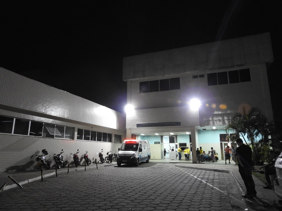 Mulher foi internada no Hospital e Pronto-Socorro (HPS) João Lúcio (Foto: Indiara Bessa/G1 AM)