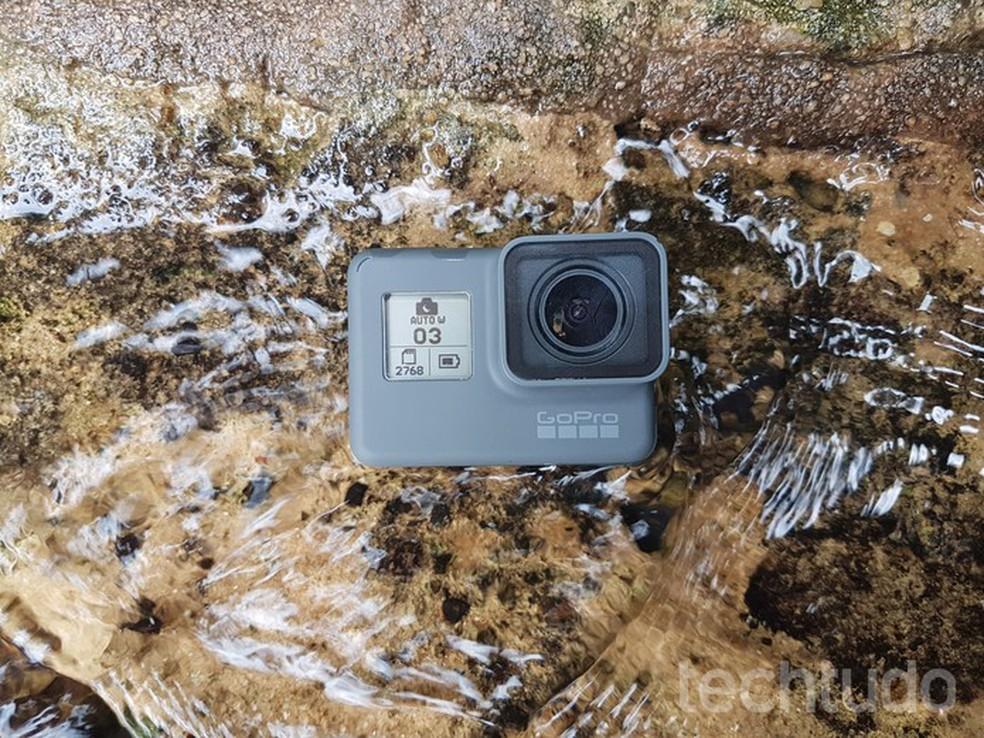 GoPro Hero6 Black: confira nosso teste completo e veja se a câmera é ideal para você. (Foto: João Gabriel Balbi/TechTudo)