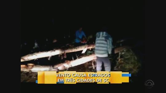 Defesa Civil confirma mortes após ventos fortes em Santa Catarina