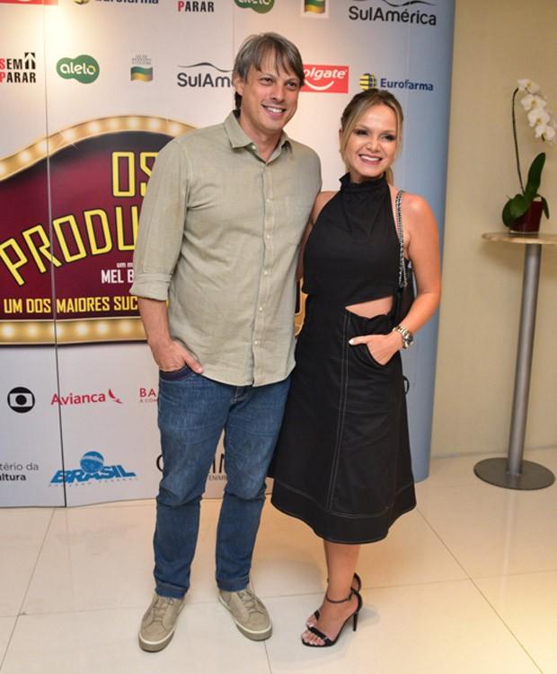 Eliana e Adriano Ricco (Foto: Leo Franco / AgNews)