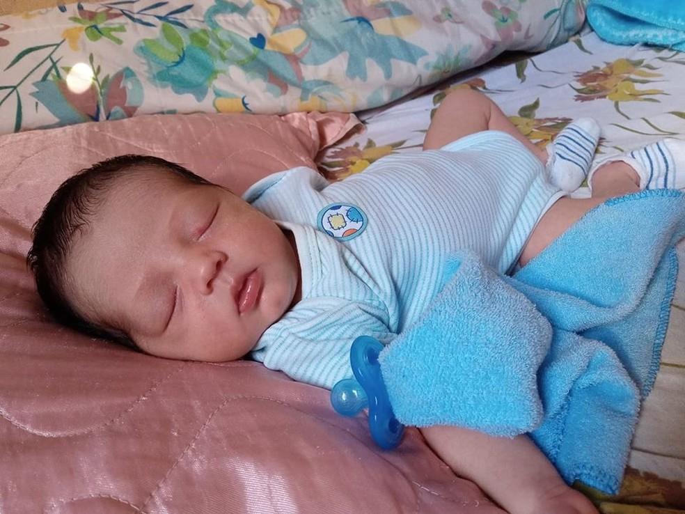Bebê de cinco meses também morreu no acidente — Foto: Arquivo Pessoal