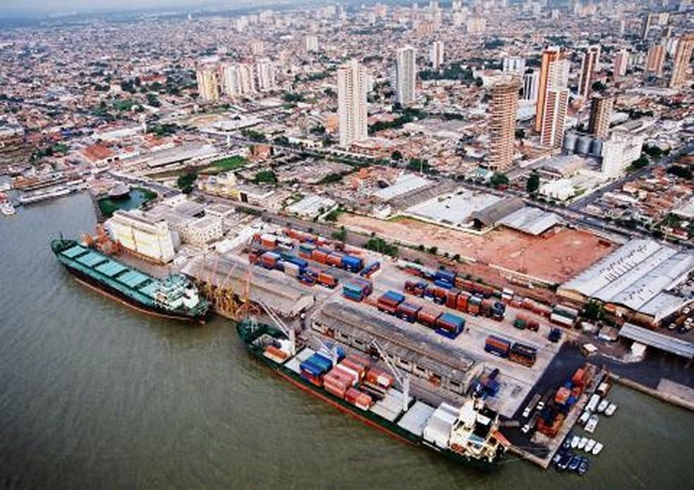 Porto de Belém — Foto: Reprodução / Companhia Docas do Pará