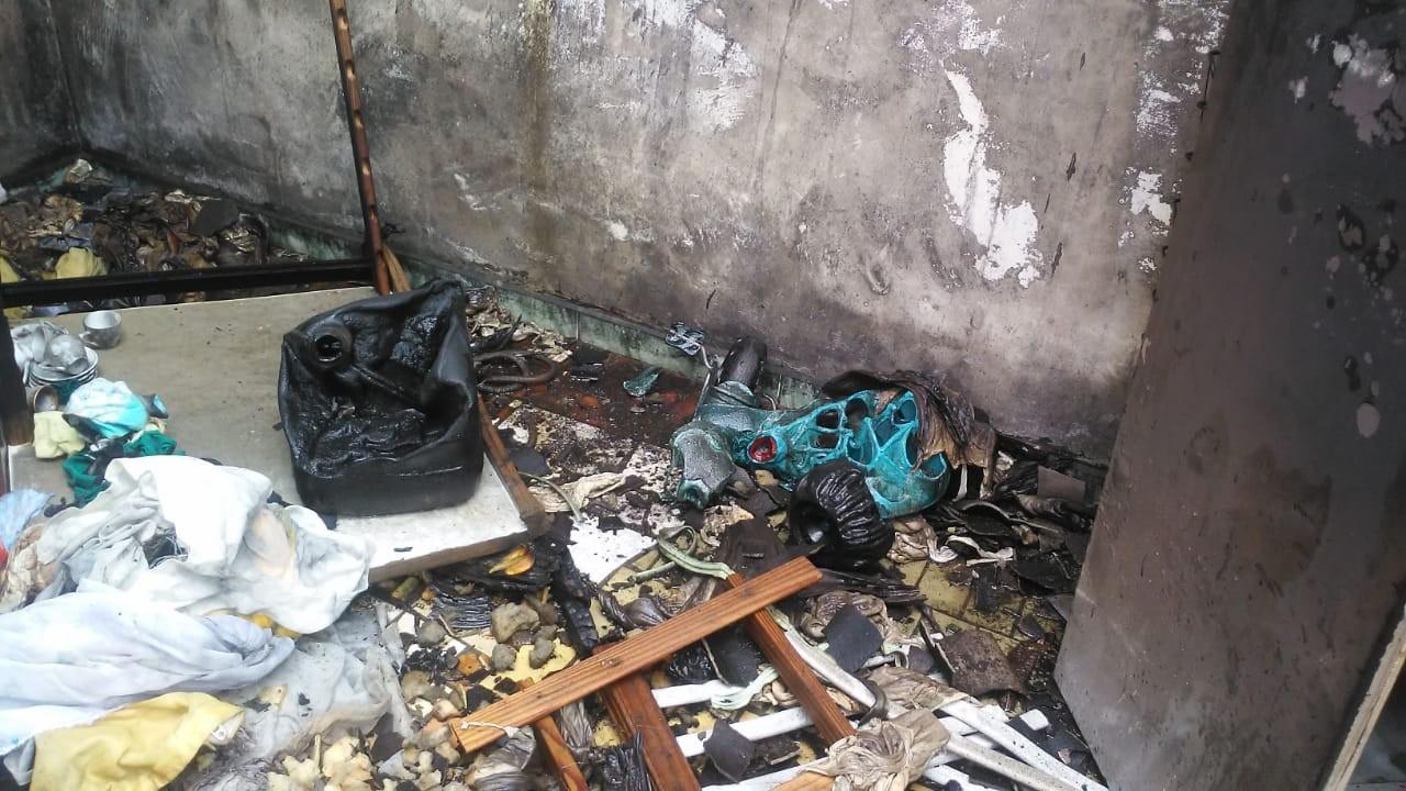 Incêndio destrói doações de Natal da Pastoral da Família, em Ponta Grossa