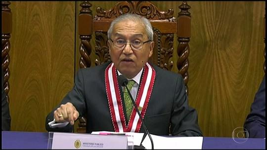 Procurador-geral do Peru renuncia em meio a investigação sobre a Odebrecht
