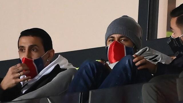 Di María e Neymar acompanham a derrota do Paris Saint-Germain para o Monaco