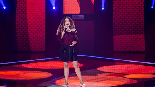 Reveja as apresentações de Hanny Kethelyn no palco do 'The Vocie Kids'