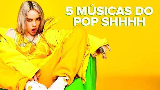 Shhhh... Como vocais sussurrados de Billie Eilish, Selena e Madonna estão deixando o pop mais relax?