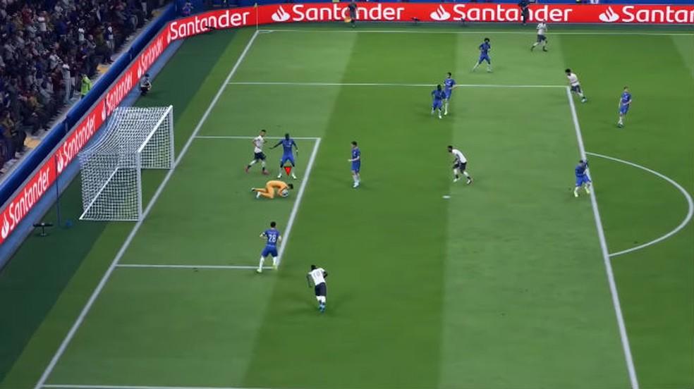 FIFA 20: você pode customizar as táticas de ataque, defesa e bola parada a qualquer momento — Foto: Reprodução / Thomas Schulze