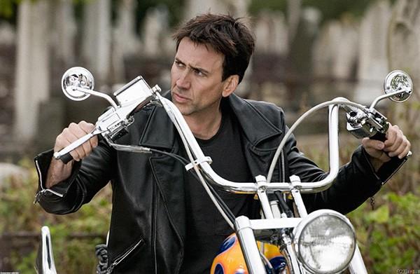 Nicolas Cage em 'Motoqueiro Fantasma' (2007) (Foto: Divulgação)