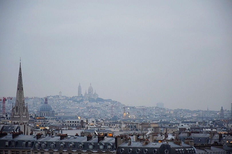 Vista panorâmica da La Suíte Shangri-La