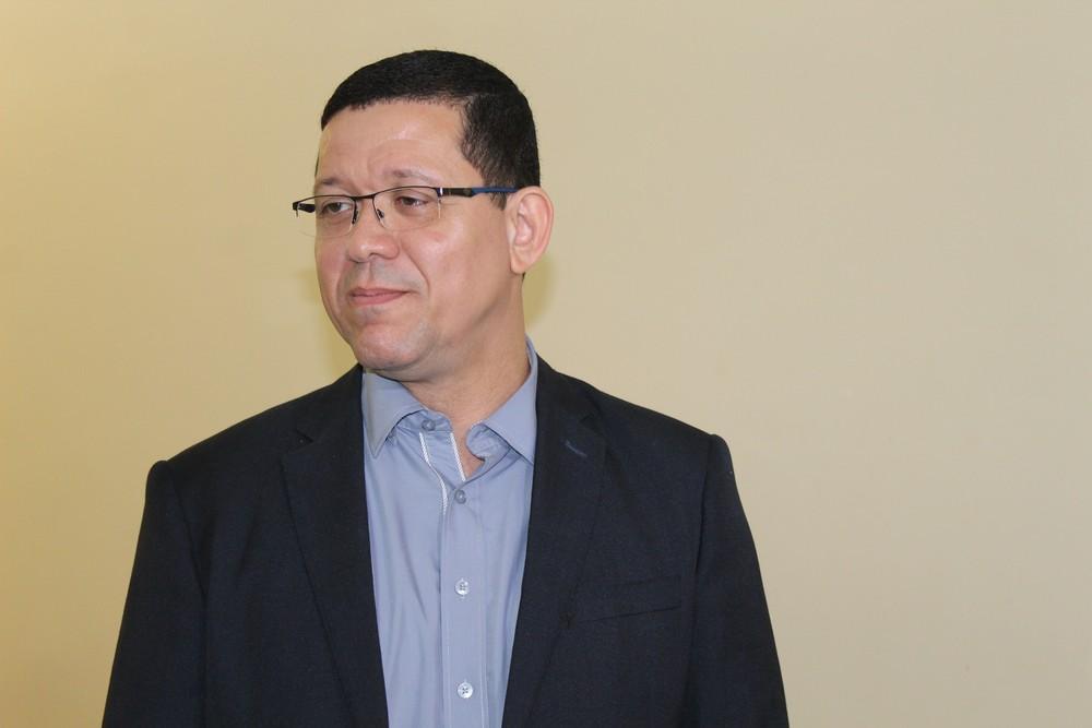 Marcos Rocha disputará o governo de RO pelo PSL (Foto: Pedro Bentes/G1)