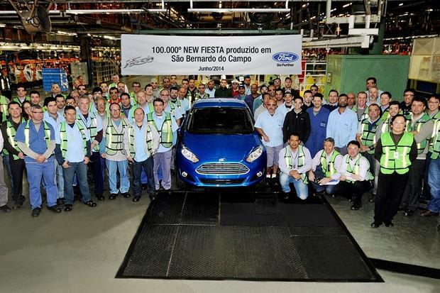 Fábrica Ford de São Bernardo do Campo, no ABC paulista (Foto: Divulgação)