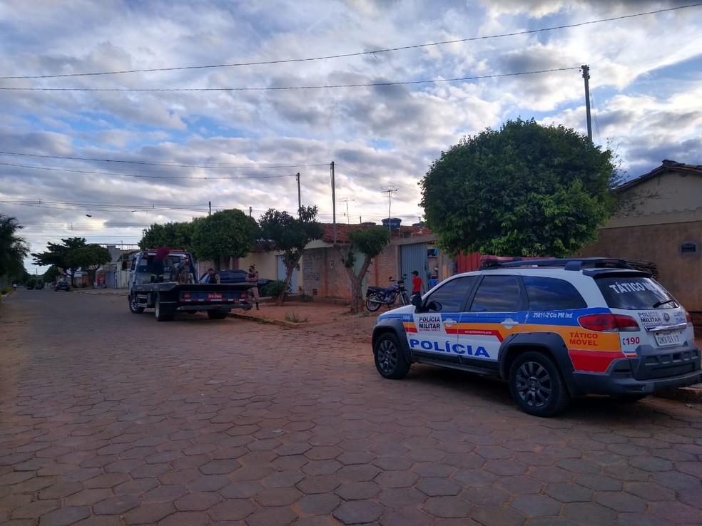 PM fez a abordagem de diversos veículos e pessoas durante a operação — Foto: Polícia Militar/Divulgação