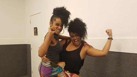 Rízia e Gabriela, do BBB19, trocam declarações em reencontro e ex-sister diz: 'Cumprimos nossa missão'