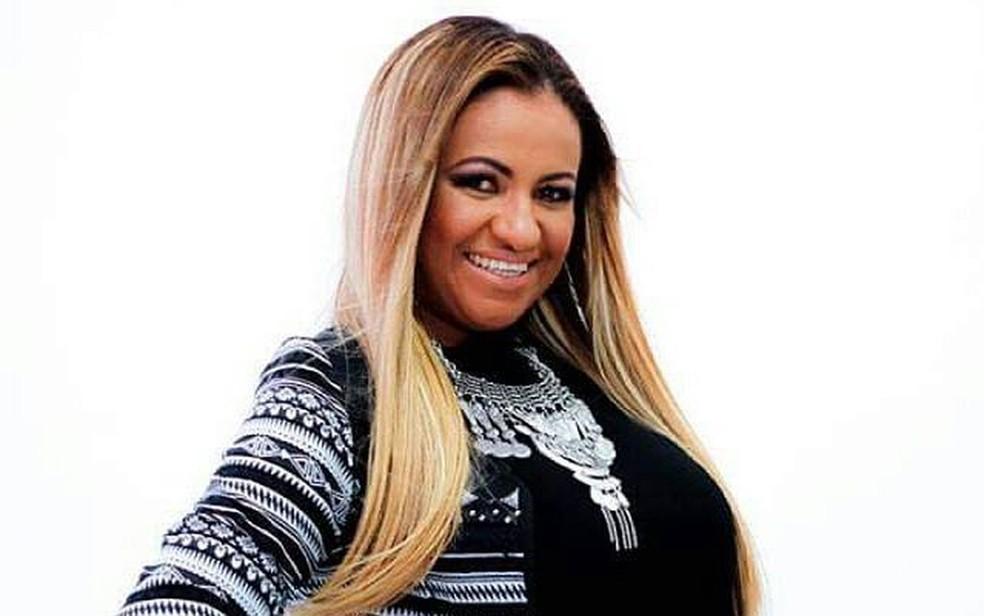 Cantora Luciene Melo — Foto: Arquivo Pessoal