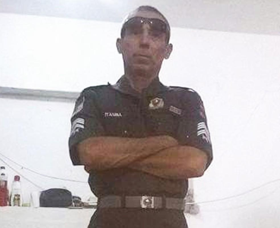 Sargento Itagibá (Foto: Arquivo Pessoal)