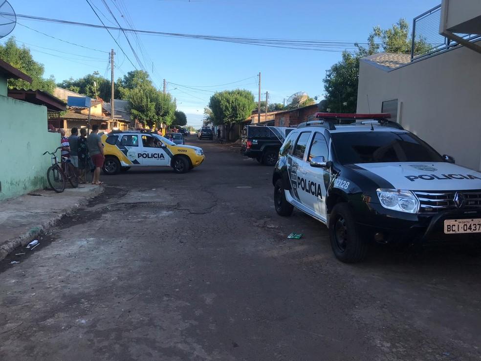 Operação foi deflagrada em Bandeirantes na manhã desta terça-feira (30) — Foto: Polícia Civil/Divulgação