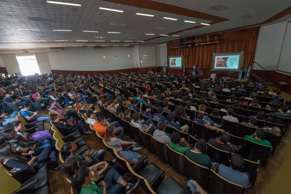 Hack Town reuniu mais de 6 mil pessoas em Santa Rita do Sapucaí — Foto: Coletivo fotográfico Hack Town