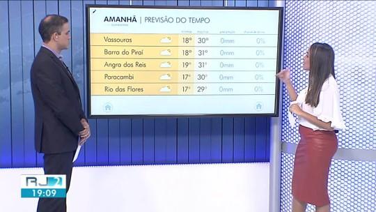 Quinta-feira será de temperaturas altas no Sul do Rio