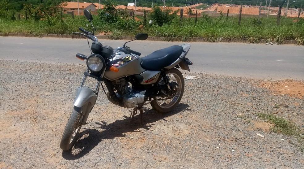 Autor é suspeito de vários assaltos na região (Foto: Polícia Militar/Divulgação)