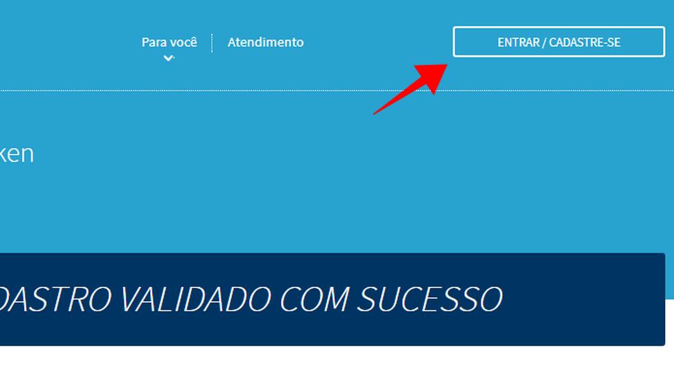 Acesse sua conta no Consumidor Positivo da Boa Vista (Foto: Reprodução/Paulo Alves)