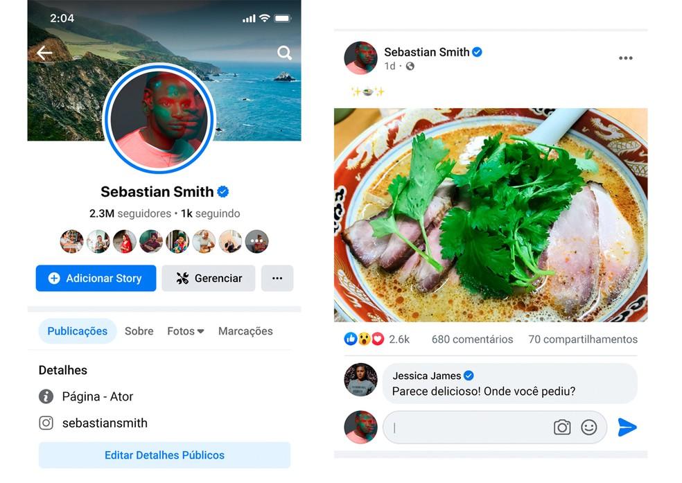 Facebook anunciou reformulação de visual para as páginas nesta quarta (6). — Foto: Divulgação